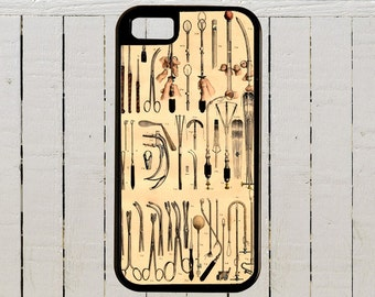 Medical Illustration of Surgical Instruments of The Early 1900s  iPhone Case for iPhone Case 4, 4s, 5, 5C, 6, 6+ and Samsung Galaxys
