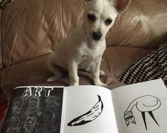 ART ZINE Fine art book