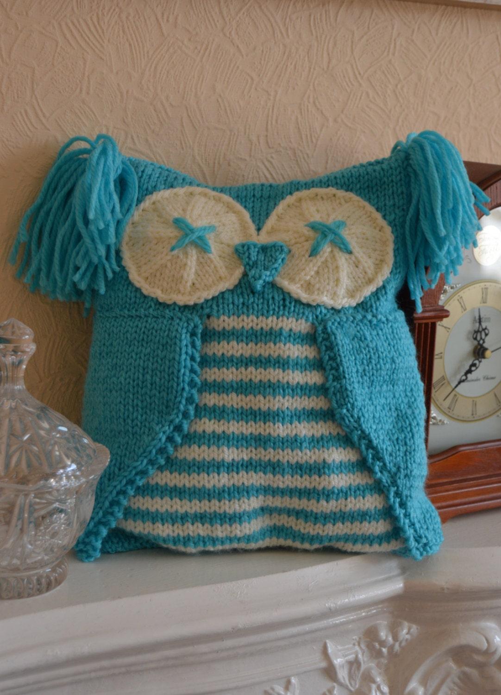 Knitting By Post Owl : Knitting pattern owl pyjama case
