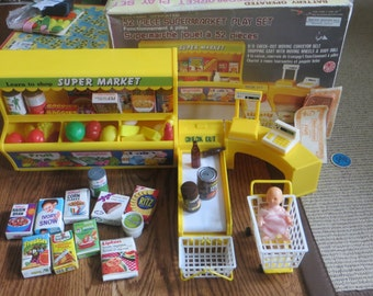 Vintage IMCO Supermarket Playset Made in Hong Kong