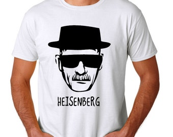 Heisenberg Shirt Breaking Bad Walter White Shirt - 2 designs available YOUR CHOICE