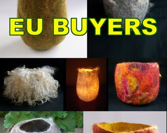 Making a Wet Felted Vessel using a 3D resist PDF