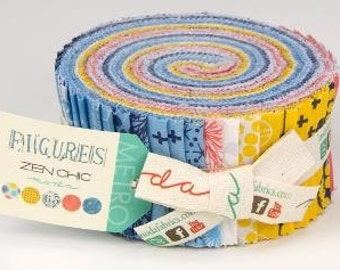 Figures Jelly Roll by Moda