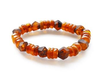 Natural Baltic amber bracelet / 0903