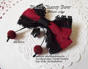 Black Cherry Bow