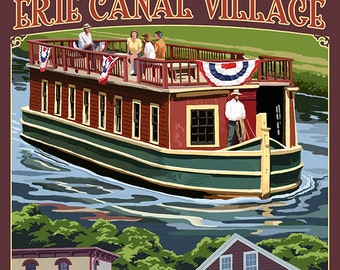 Erie Canal Village, New York Views (Art Prints available in multiple sizes)