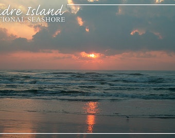 Padre Island National Seashore - Dawn (Art Prints available in multiple sizes)