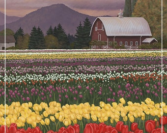 Skagit Valley Tulips (Art Prints available in multiple sizes)