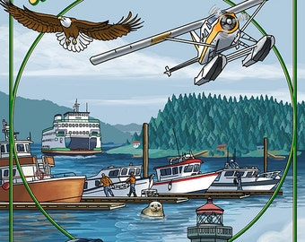 San Juan Island Views (Art Prints available in multiple sizes)