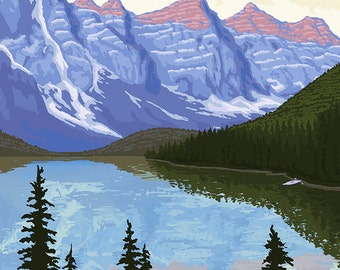 Canadian Rockies (Art Prints available in multiple sizes)
