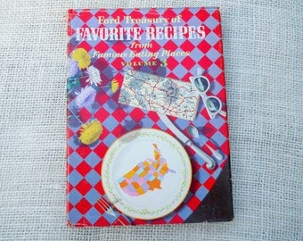 1959 Ford Treasury of Favorite Recipes from Famous Eating Places Volume 3