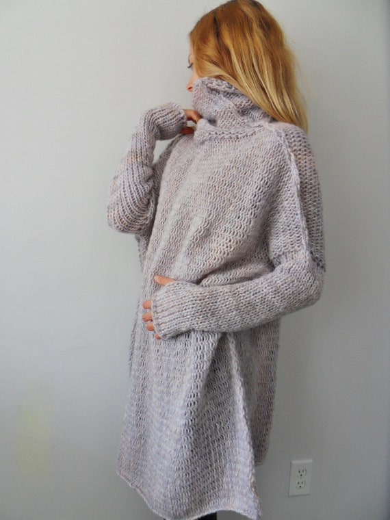 09ba0632e3450 Chunky Oversized women knit sweater by RoseUniqueStyle on