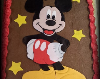 Mickey Mouse Fondant Cake Kit