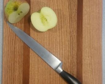 Cutting Board - White Oak and Mahogany