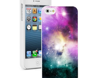 For Apple iPhone SE 4 4s 5 5s 5c 6 6s 7 Plus Hard Case Cover 249 Nebula Stars Astronomy