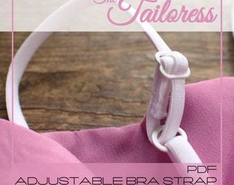 Adjustable Bra Strap Tutorial