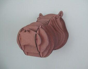 Medium Hippopotamus Head
