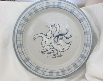 Gaggle of Geese Platter