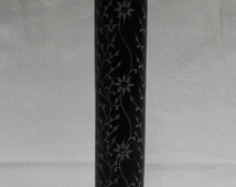 Incense Burner Black Marble Hand Crafted Home Decorative Art