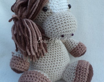 Crochet Patch the Pony Horse