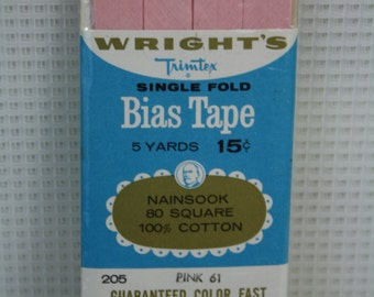 Total of 9 Wright's Bias Tape