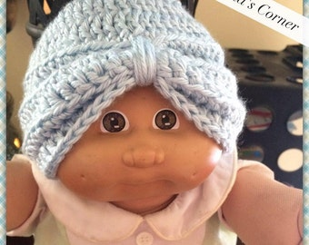 Crochet Baby Turban (0-6 months)- RTS
