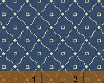 Windham Fabrics - Farmhouse Blues II - Design #28185 - Cotton Woven Fabric