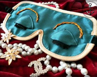"Mask sleeping ""Breakfast at Tiffany 's"""