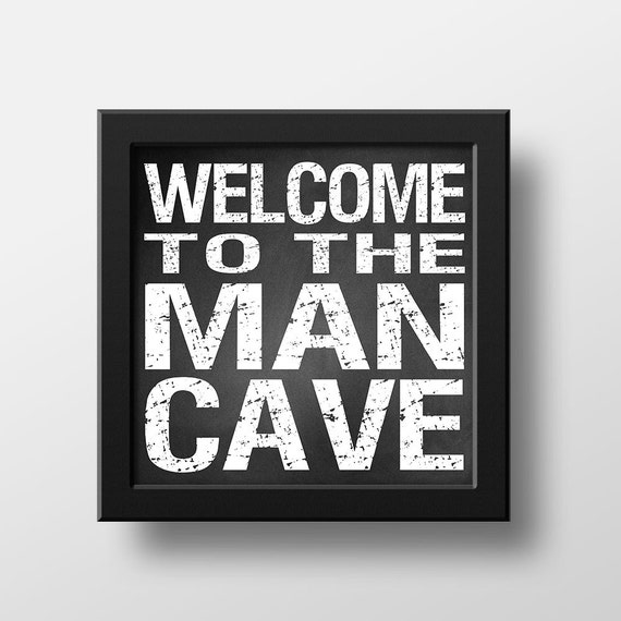 Man Cave Gifts For Dad : Man cave sign decor gift for him