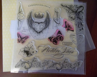 PICTURE THIS -- D1448.  My Acrylix Stamp Set by CTMH.  Gently used and ready for creating.
