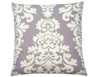 Cushion cover BERLIN Baroque pattern lilac vanilla 40 x 40 cm