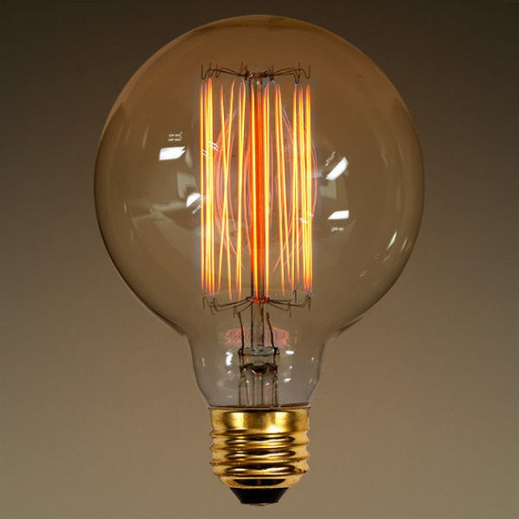 edison g30 globe 40 watt antique light bulb by. Black Bedroom Furniture Sets. Home Design Ideas