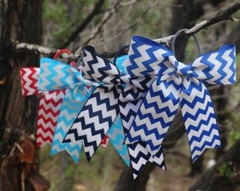 Chevron Pony Bows