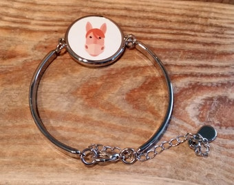 Horse Bracelet - can be fully personalised