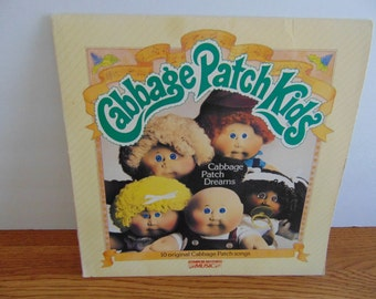 1984 Cabbage Patch Kids, LP record.  Contains 10 official, original Cabbage Patch songs.  Hard to Find!