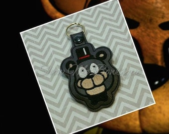 Bear Key Fob/Zipper Pull design Instant Download