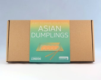Asian Dumplings Kit - Make your own Gyoza, Chinese Jiaozi and Korean Mandu