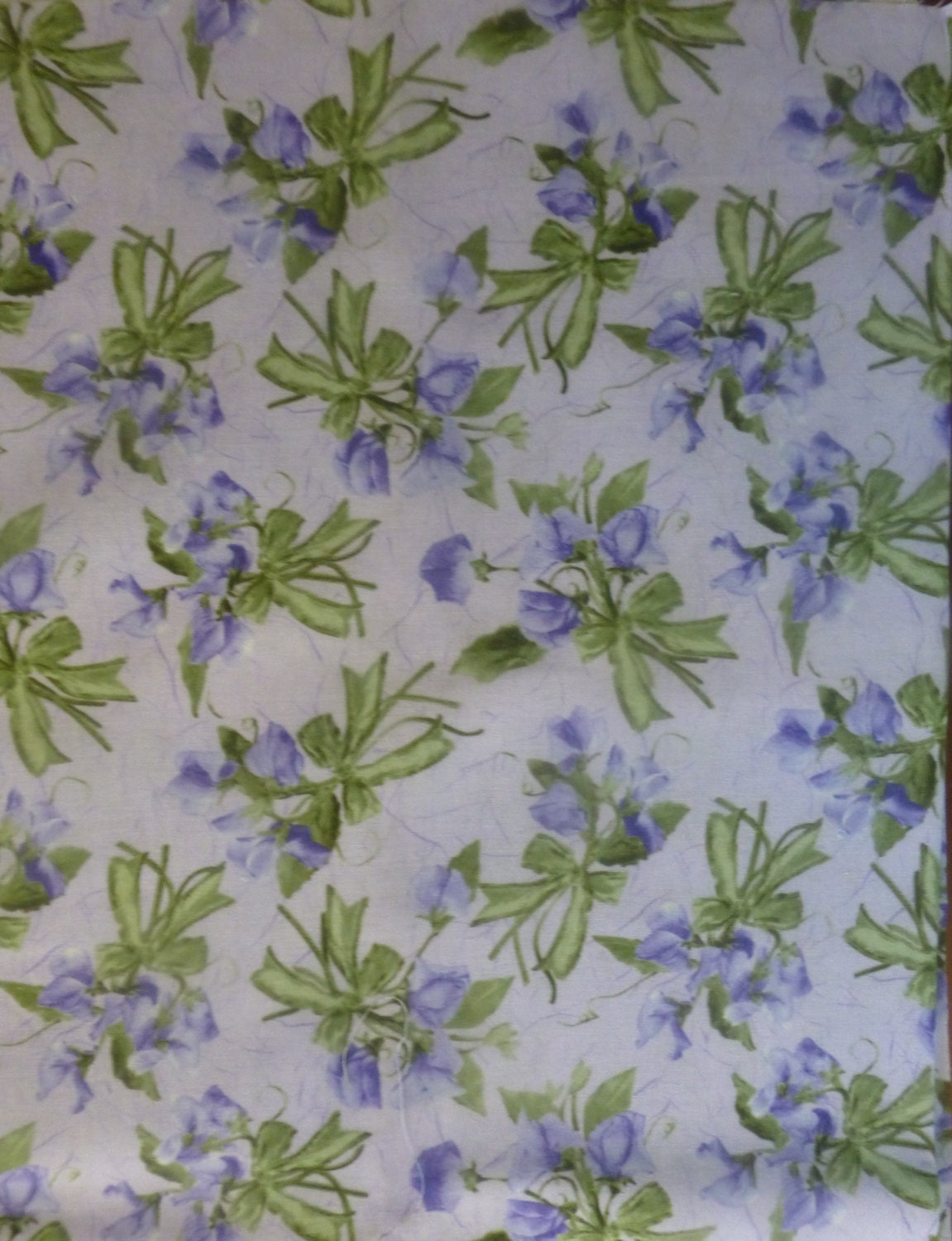 Cotton Fabric Quilt Home Decor Floral A 12 Yard