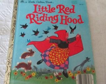A Little Goldden Book Little Red Riding Hood