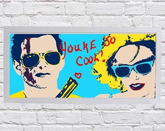 True Romance pop art print