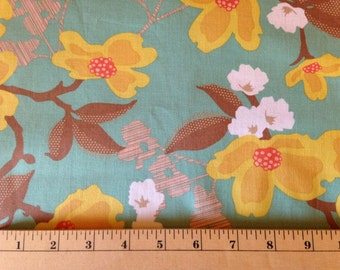 MODERN MEADOW By Joel Dewberry - Fabric - Dogwood Bloom in Sunglow - Free Spirit - Quilting - Sewing - Home Decor - Floral