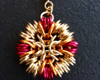 Chainmaille Dreamcatcher Pendant