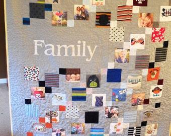 Memory Quilt - Family