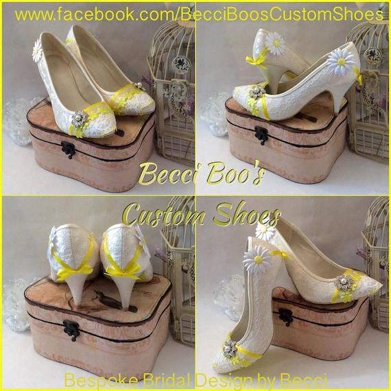 Bespoke Bridal Shoe Service Create Your Perfect Wedding