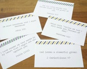 Scripture Memory Cards {set of 20} - 4x6 Digital Printable