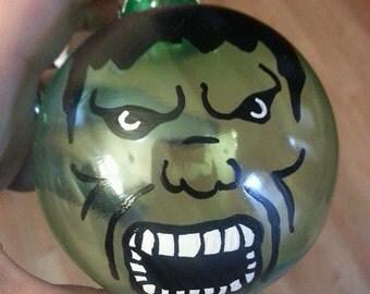 Hulk inspired ornament