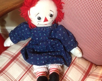 Vintage Raggedy Ann doll 1990s Applause Vintage doll Raggedy Collector
