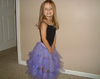 Mal Descendants inspired tutu, great for costumes and dress up!
