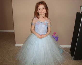 New Cinderella inspired tutu dress! READY TO SHIP