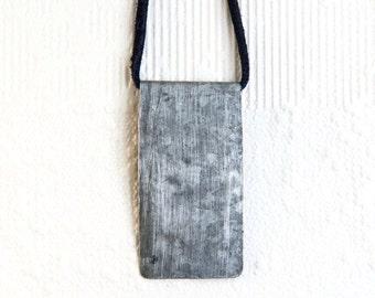 Tin Sheet Metal Necklace